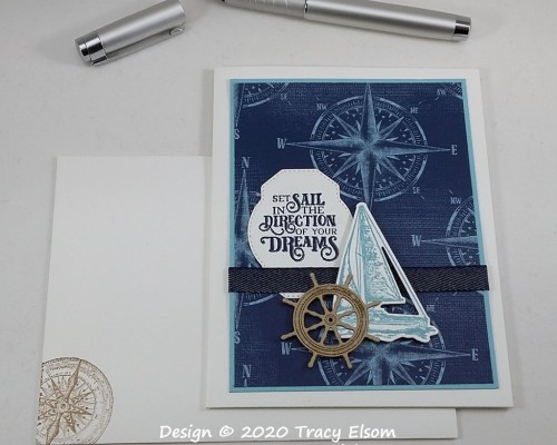 1955 Set Sail Card