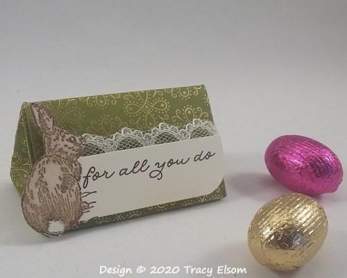 BB62 – Bunny Triangle Box