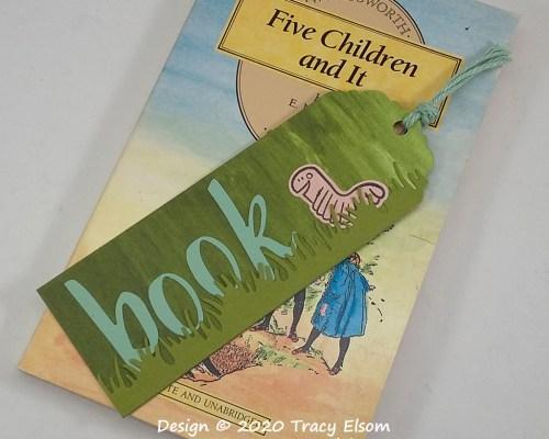 BM295 Bookworm Bookmark