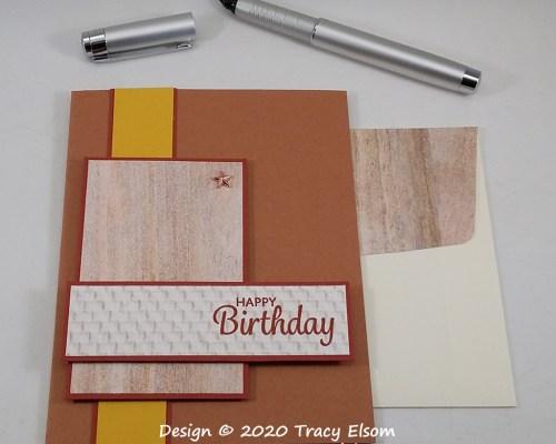 1985 Masculine Birthday Card