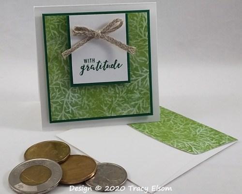 2002 With Gratitude Mini Card