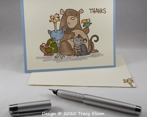 2003 Thanks (From All Of Us) Card