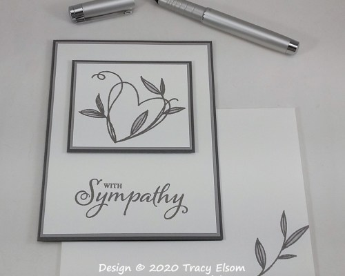 2005 Touched With Sympathy Card