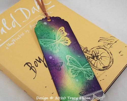 BM302 Bold Butterflies Bookmark