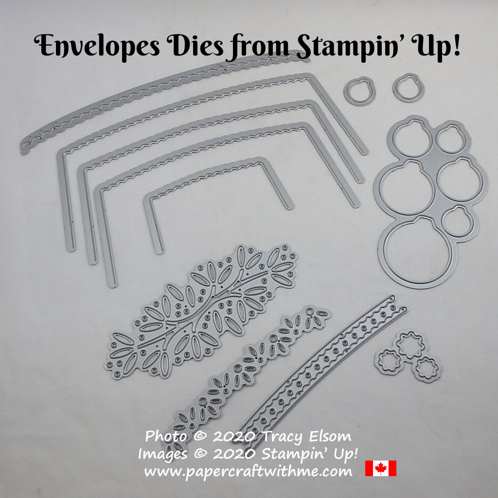 Give your envelope a custom look with the Envelopes Dies from Stampin' Up! #papercraftwithme
