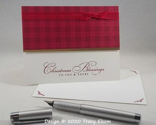 2030 Christmas Blessings Card