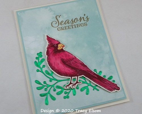2041 Cardinal Seasons Greetings Card