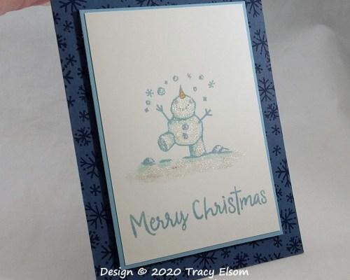 2043 Stella Snowman Card