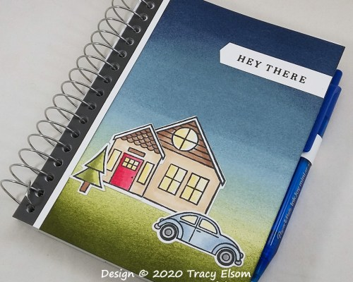 P124 Hey There Vehicle Log Notebook