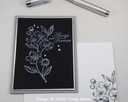 2081 Always & Forever Monochrome Card