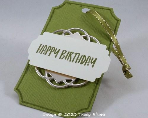 Gender Neutral Birthday Gift Tag