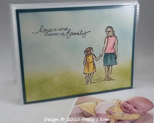 P138 Loving Family Pocket Photo Album