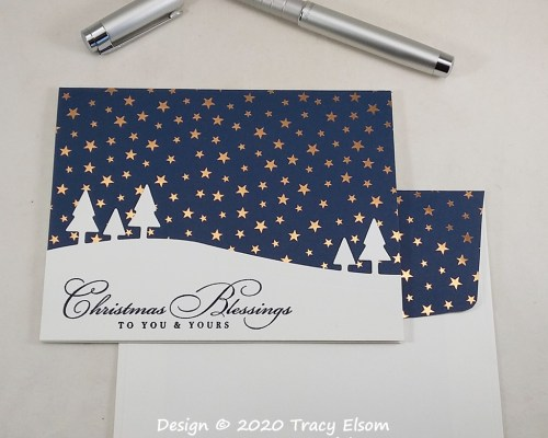 2106 Starry Blessings Christmas Card