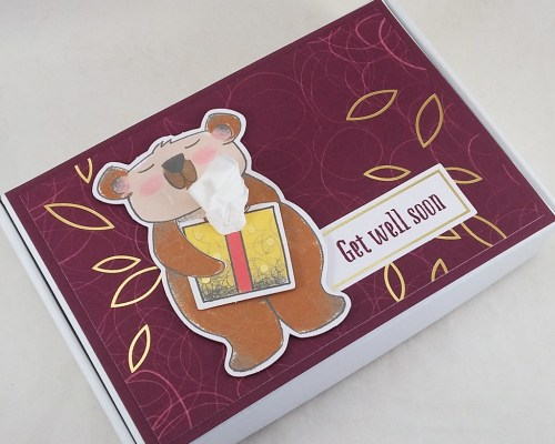 BB79 Beary Comforting Get Well Box