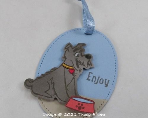 Enjoy (Pet Dog) Gift Tag