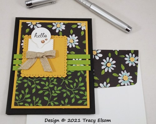 2172 Daisy Hello Card