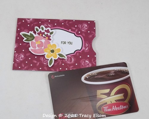 GC222 For You Gift Card Holder
