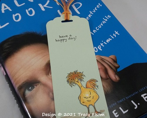 BM341 Have A Happy Day Bookmark