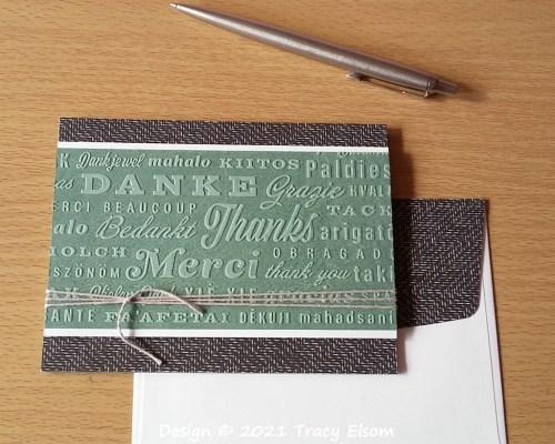 2199 Thanks, Merci, Danke Card