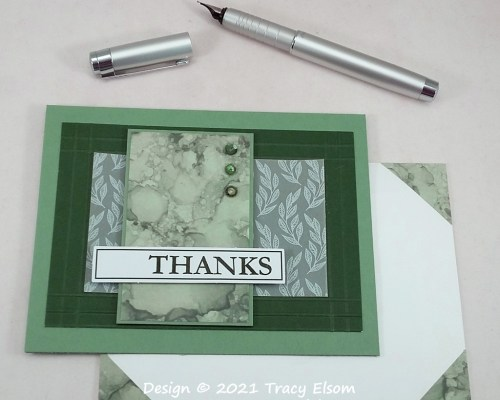 2228 Expressions In Thanks Card