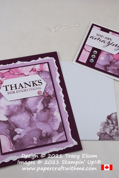 Alternate card and gift tag ideas using the June 2021 Paper Pumpkin Kit - Expressions In Color from Stampin' Up! #papercraftwithme #paperpumpkin
