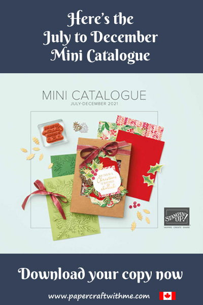 Download the Stampin' Up! July to December Mini Catalogue PDF