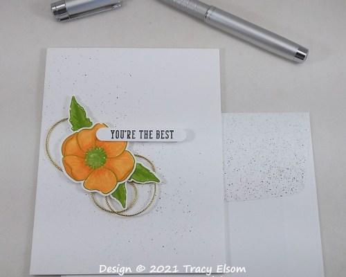 2243 You're The Best (Poppy) Card