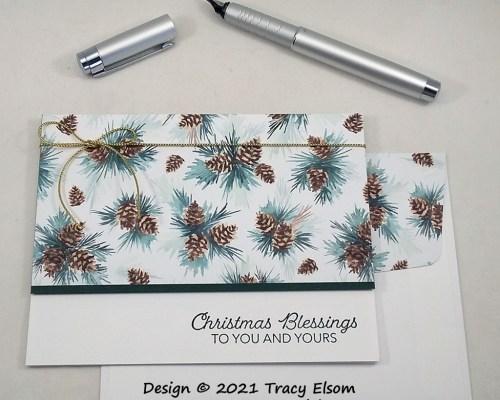 2271 Christmas Blessings Card