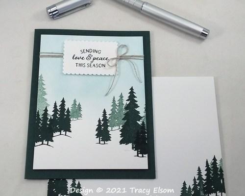 2284 Love & Peace Card
