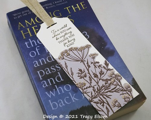 BM366 Thank You For Being Kind Bookmark