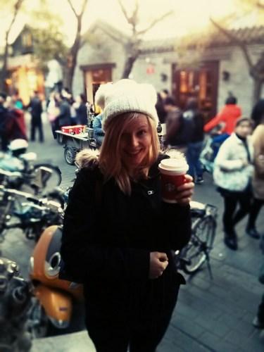 Christmas Starbucks Nanluoguxiang