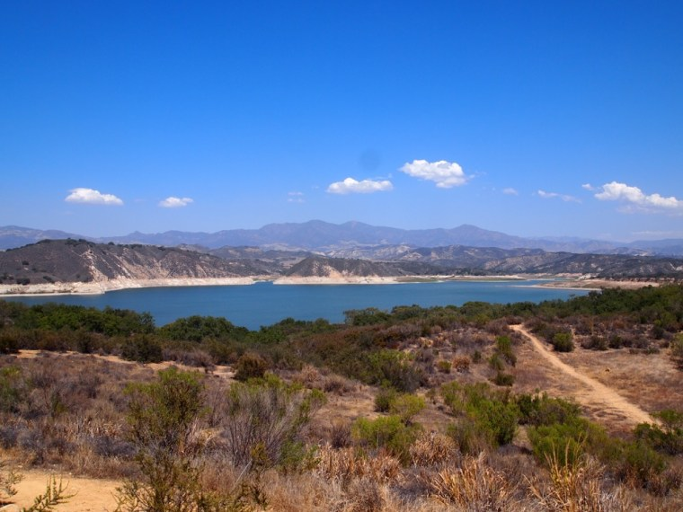 Lake near Santa Barbara