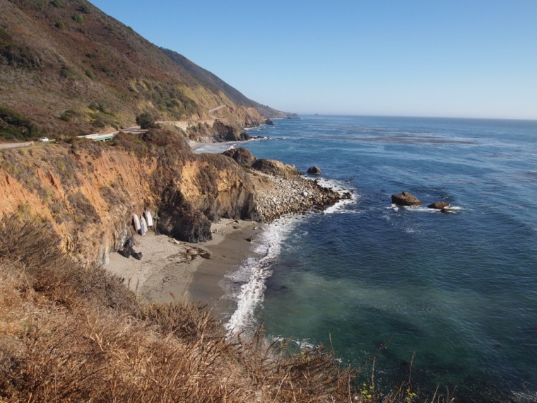 Pretty Beach on Big Sur