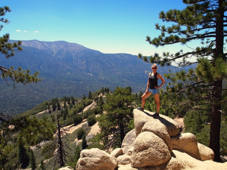 Hiking at Big Bear Pine Knott