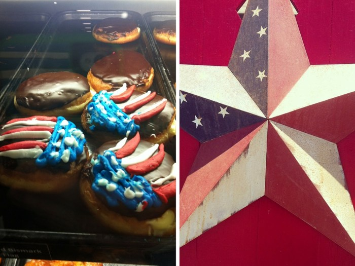 American donuts 4th July