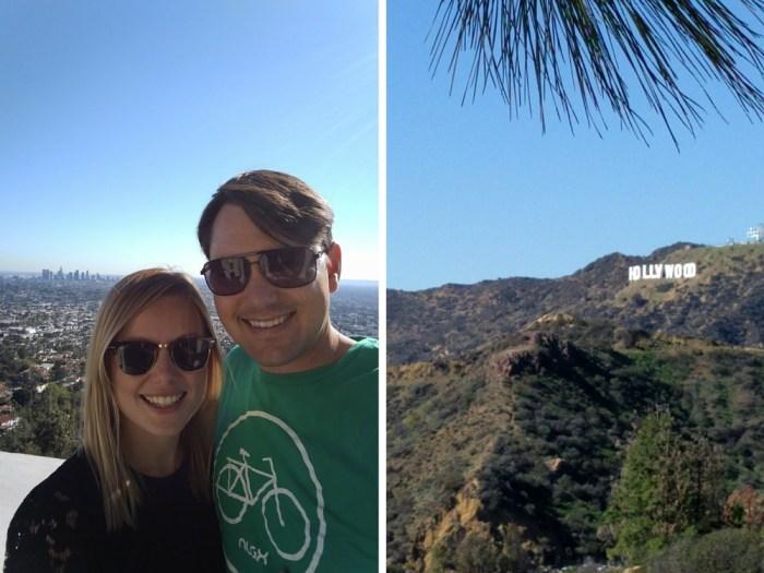 Hollywood sign Griffith Park