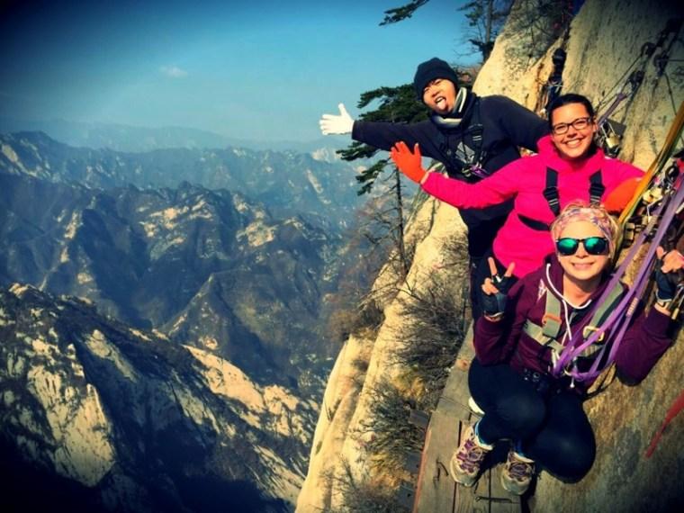 Hiking Huashan in China