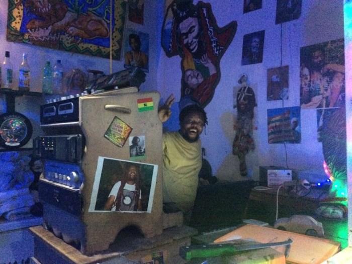 Lion bar Benin travelling west Africa