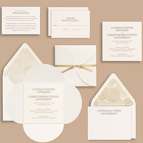 The Full Suite Includes Main Invitation