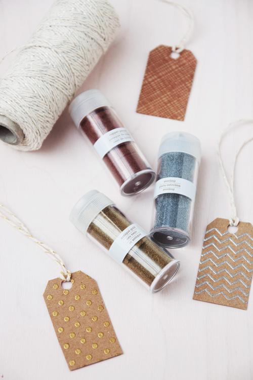 Metallic Embossed Gift Tags