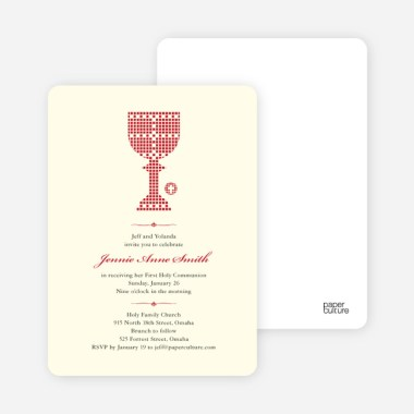first sacrament chalice