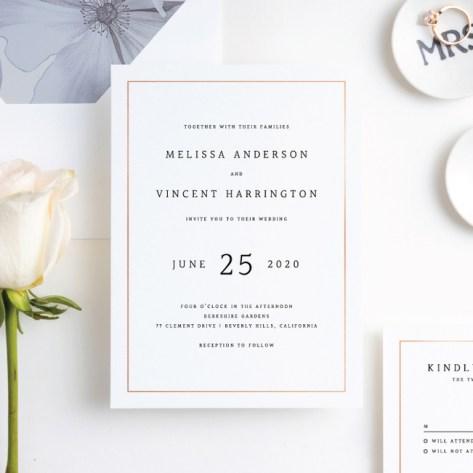 Traditional Wedding Invitations Paper Culture
