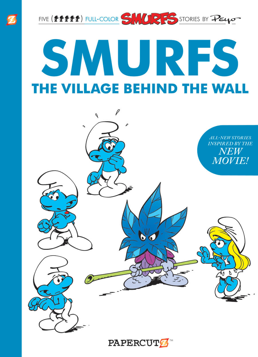 SMURFS: THE LOST VILLAGE_cover_graphic