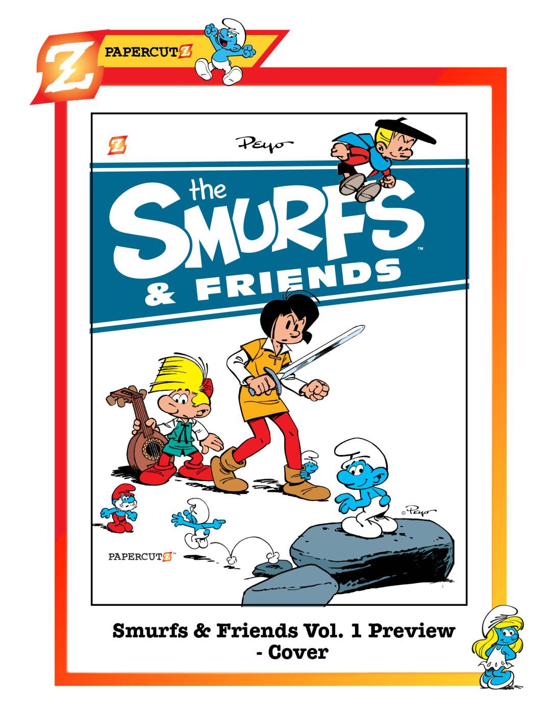Smurfs_and_Friends_preview_cover