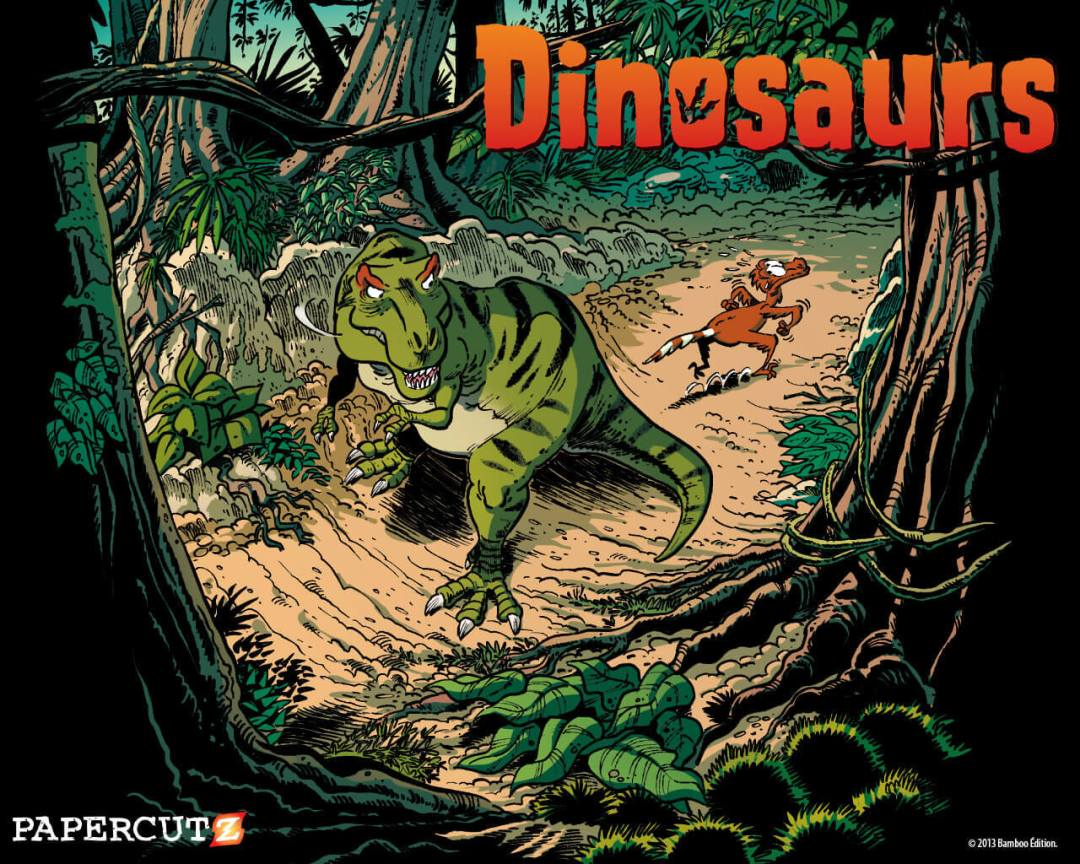 Dinosaurs Wallpapers Papercutz The Kids Graphic Novel Publisher