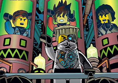 """Lego Ninjago #9 Preview: """"Night of the Nindroids"""""""
