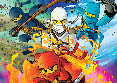 "Lego Ninjago #1 Preview: ""The Challenge of Samukai!"""