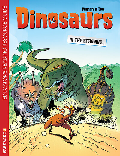 Dinosaurs_Educators_Guide_cover_graphic