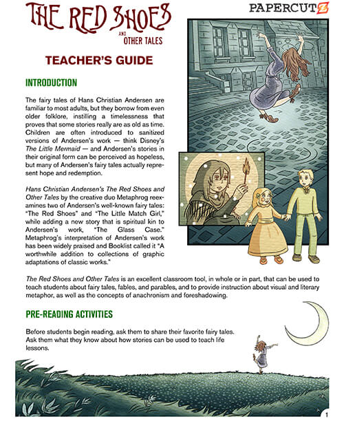 THE RED SHOES: Educator's Guide is now available!