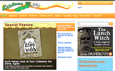 Kidsreads.com Features THE LUNCH WITCH